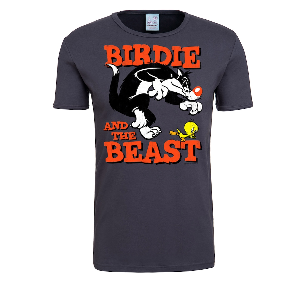 LOGOSHIRT T-Shirt »Looney Tunes«, mit lizenziertem Originaldesign