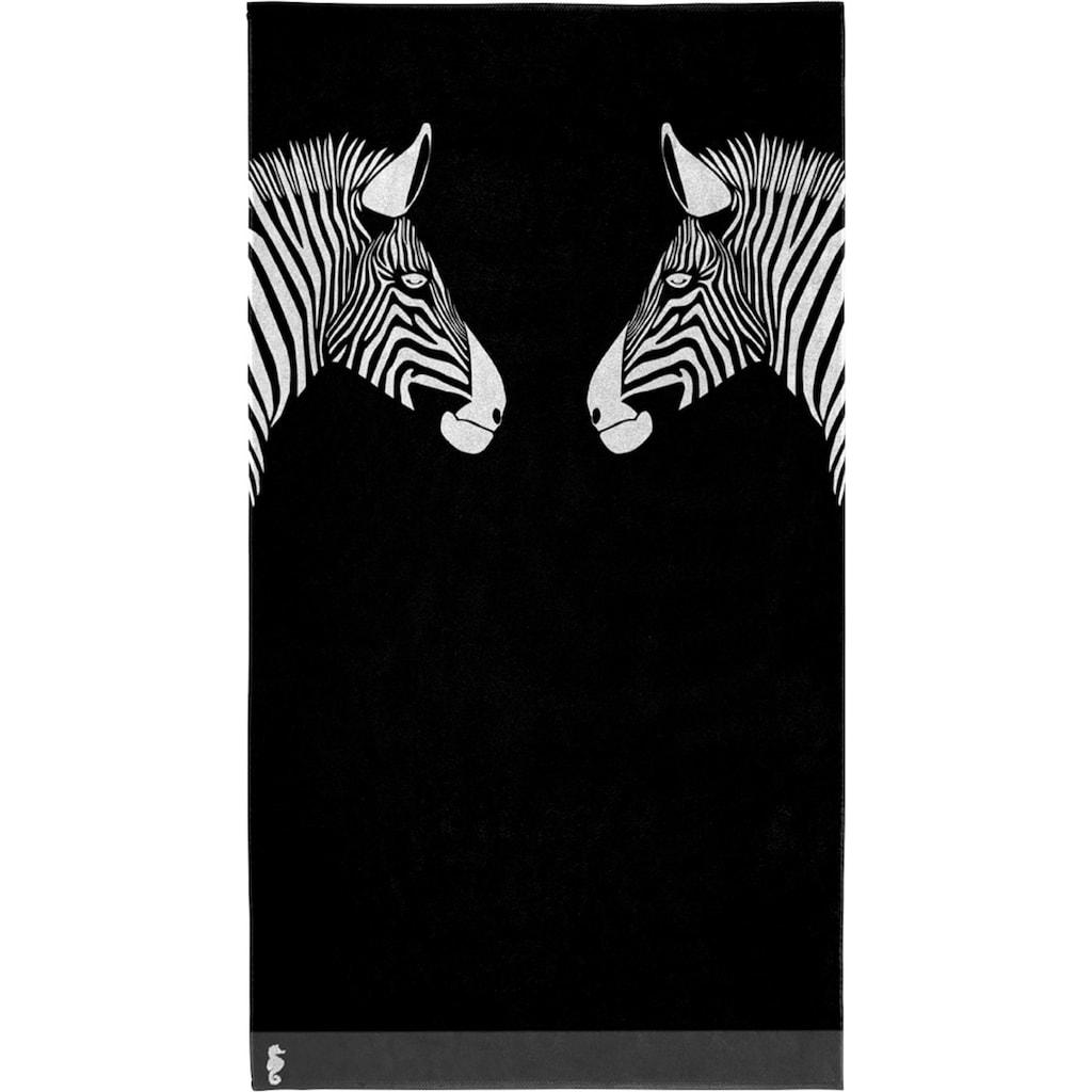 Seahorse Strandtuch »Zebra«, (1 St.)