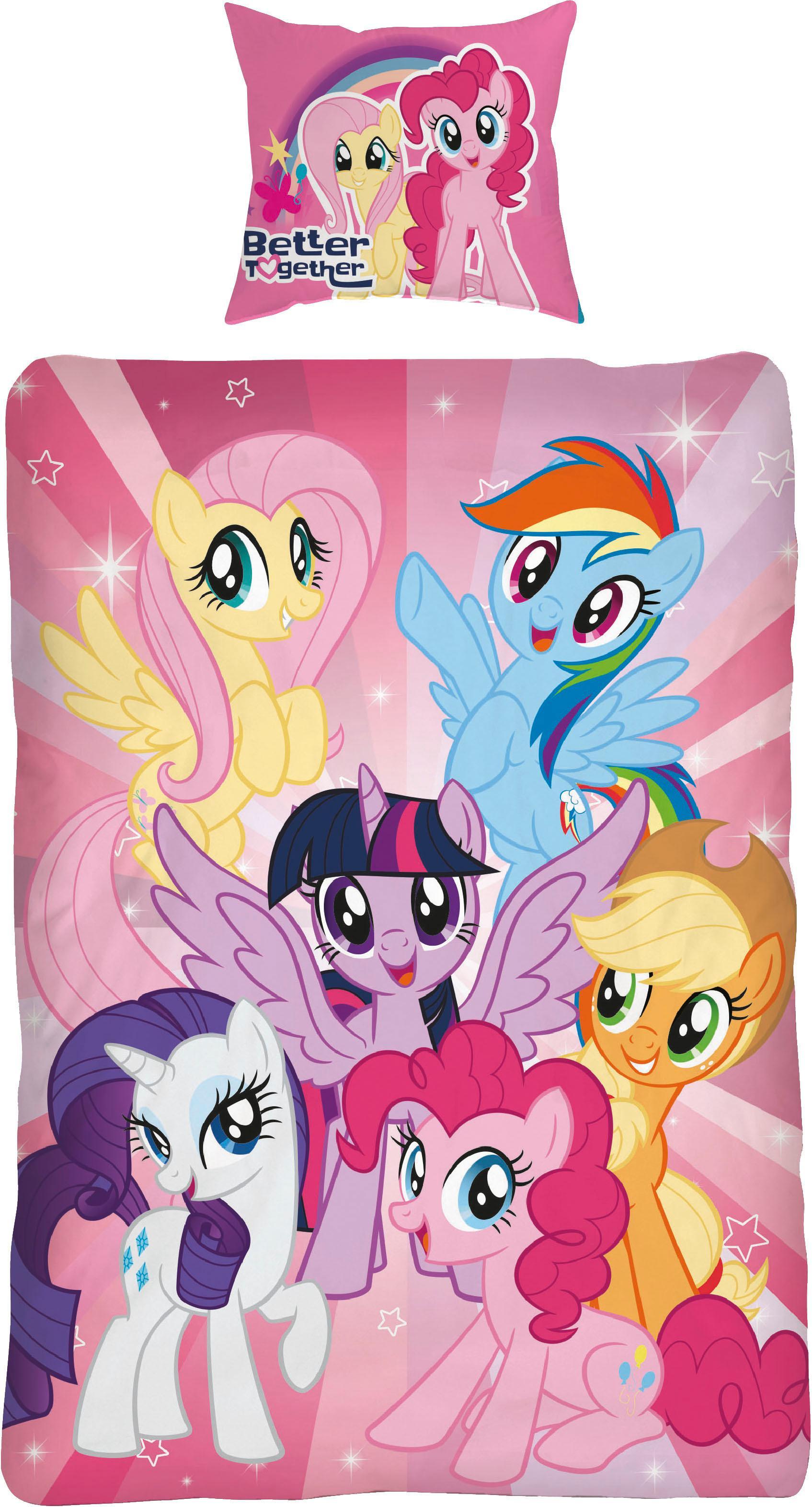 Kinderbettwäsche Ponyteam