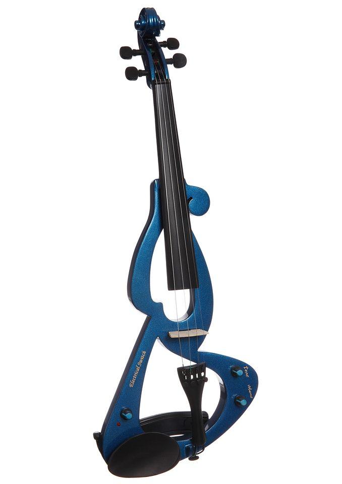 Elektrische Violine E-Violine mit Zubehör MSA Preisvergleich