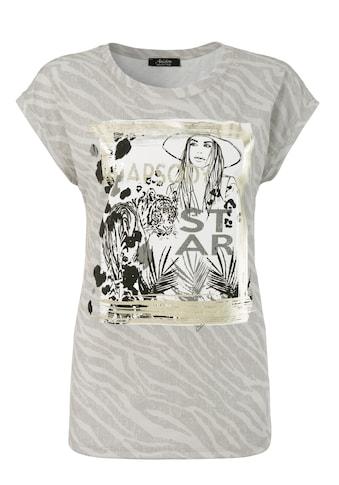Aniston SELECTED T-Shirt, mit Glitzersteinen - NEUE KOLLEKTION kaufen