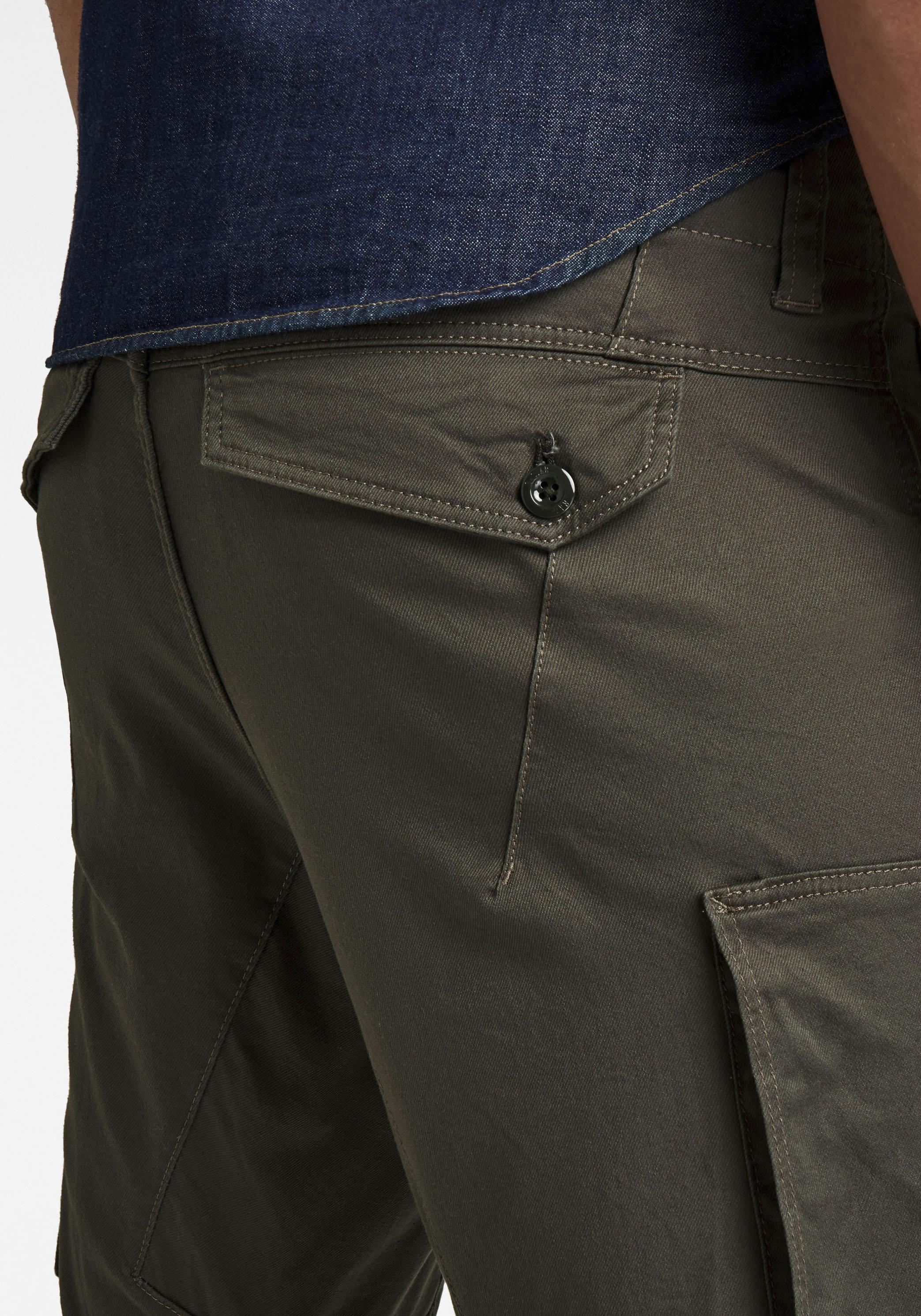 g-star raw -  Cargohose Zip Pocket 3D Skinny Cargo Bracket Superstretch Twill