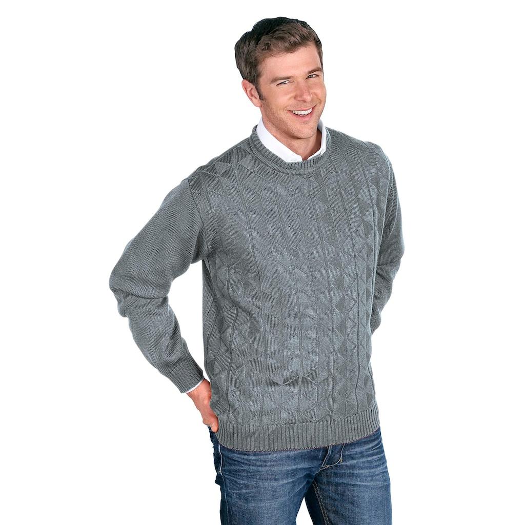 Classic Rundhalspullover »Pullover«