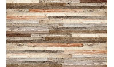 Papermoon Fototapete »Wooden Wall« kaufen