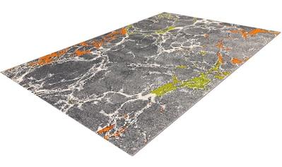 calo-deluxe Teppich »Pinda 4422«, rechteckig, 18 mm Höhe, Kurzflor, Wohnzimmer kaufen