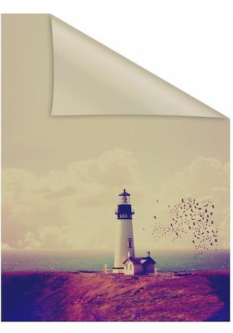 LICHTBLICK ORIGINAL Fensterfolie »Leuchtturm«, 1 St., blickdicht,... kaufen