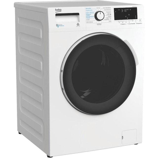 BEKO Waschtrockner WDW 85141 Steam, 8 kg / 5 kg, 1400 U/Min