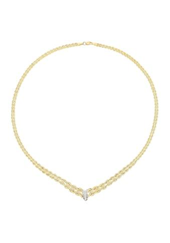 Vivance Collier »Collier«, rhodiniert,diamantiert kaufen