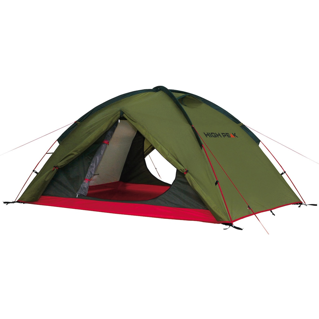 High Peak Kuppelzelt »Woodpecker 3«, 3 Personen, (Set, mit Transporttasche)