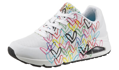 Skechers Wedgesneaker »UNO-SPREAD THE LOVE«, mit auffälligem Graffiti-Print kaufen