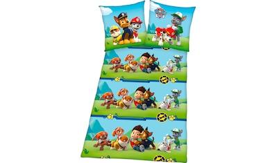 PAW PATROL Kinderbettwäsche »Paw Patrol«, mit tollem Motiv kaufen