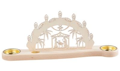 SAICO Original Mini - Lichterbogen Christi Geburt für 2 Teelichte kaufen