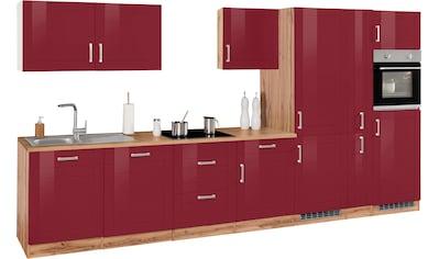 HELD MÖBEL Küchenzeile »Tinnum«, ohne E-Geräte, Breite 390 cm kaufen