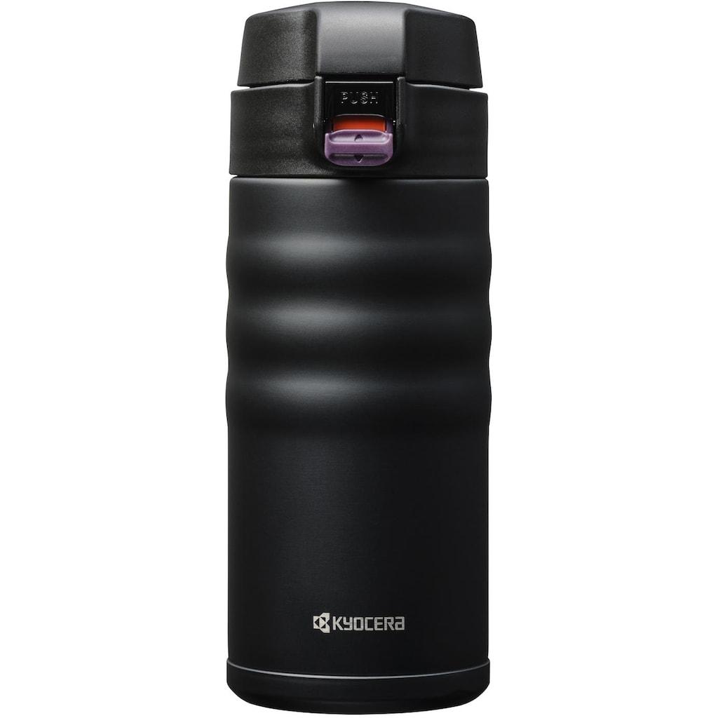 KYOCERA Isolierflasche »Flip Top«, Fassungsvermögen 350 ml, Höhe 16,5 cm