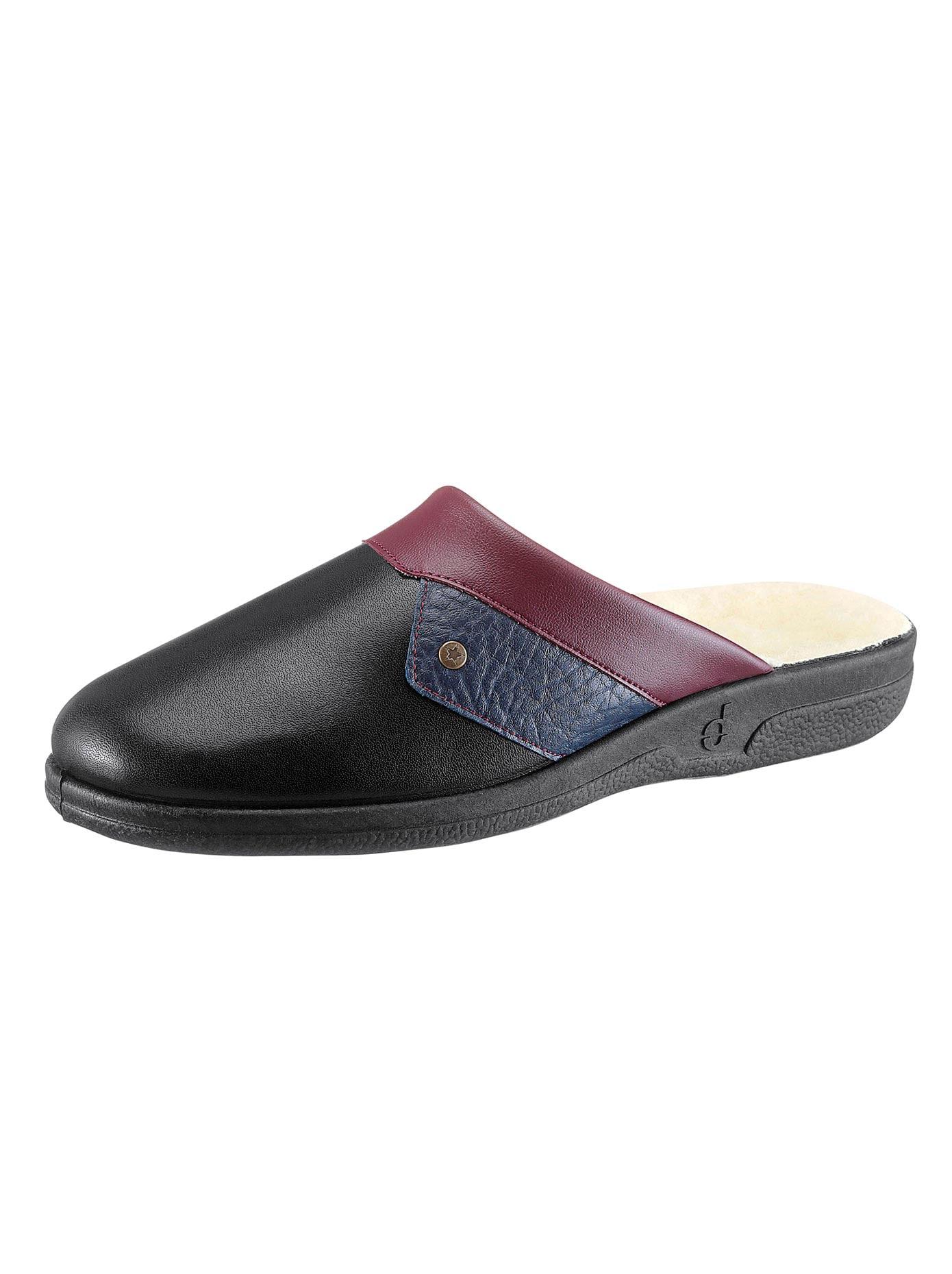 Leder-Pantoffel, Intra | Schuhe > Hausschuhe > Pantoffeln | Classic