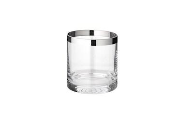 EDZARD Windlicht »Molly«, Kristallglas mit Platinrand kaufen