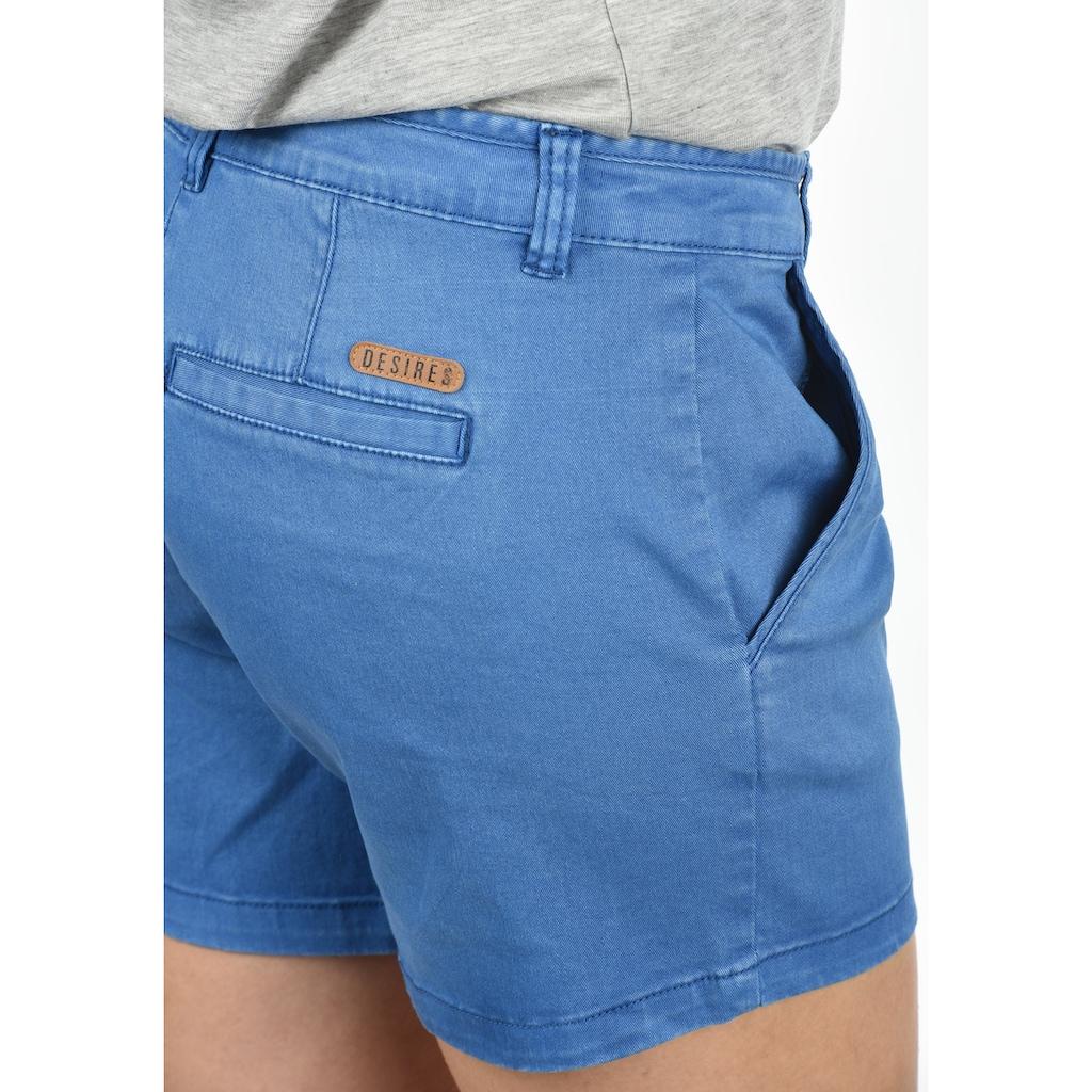 DESIRES Shorts »Kathy«, kurze Hose mit Stretch