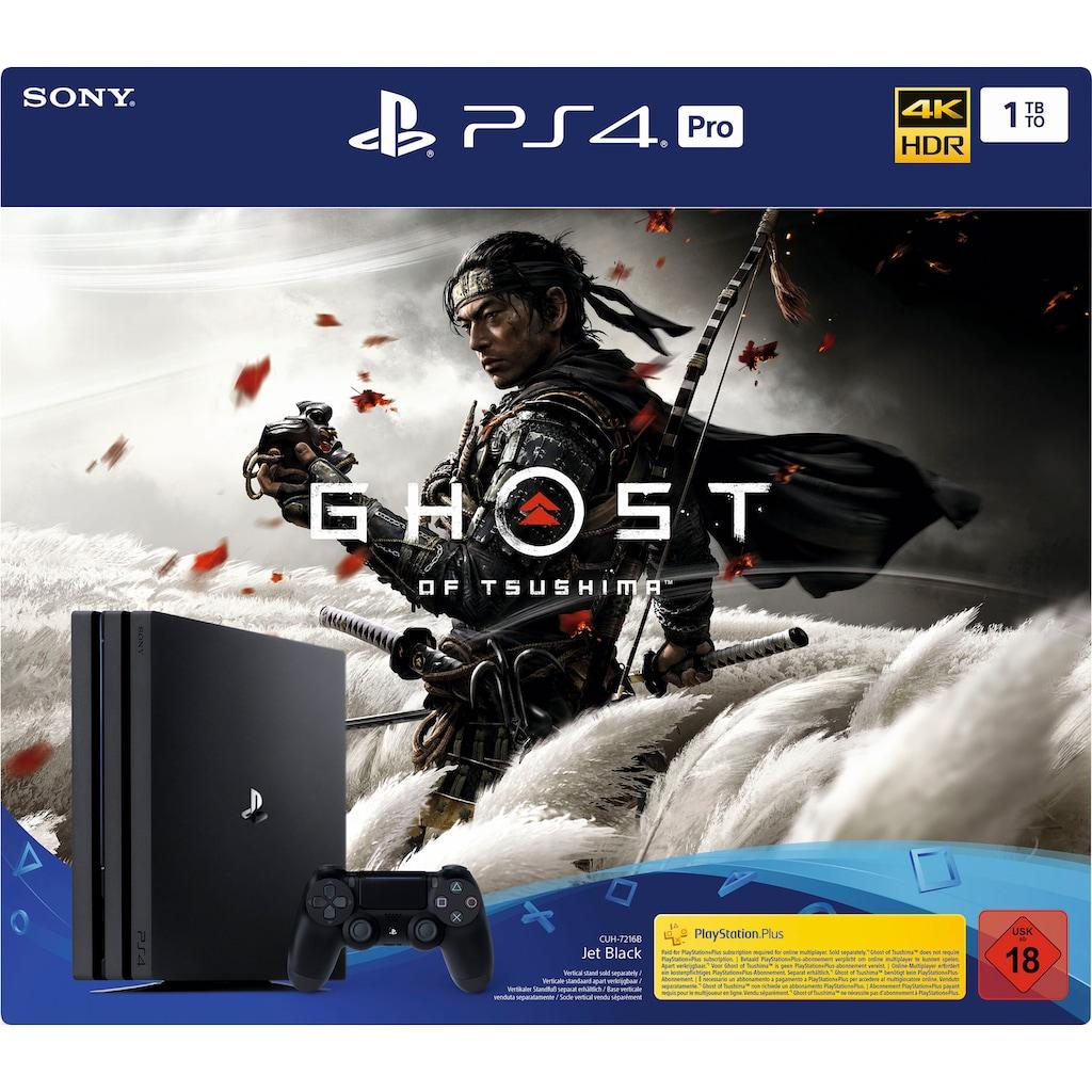 PlayStation 4 Konsolen-Set »Pro«, inkl. Ghost of Tsushima