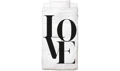 Bettwäsche »Love 2«, Juniqe kaufen