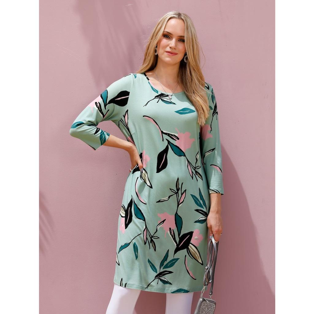 MIAMODA Longshirt, mit floralem Muster