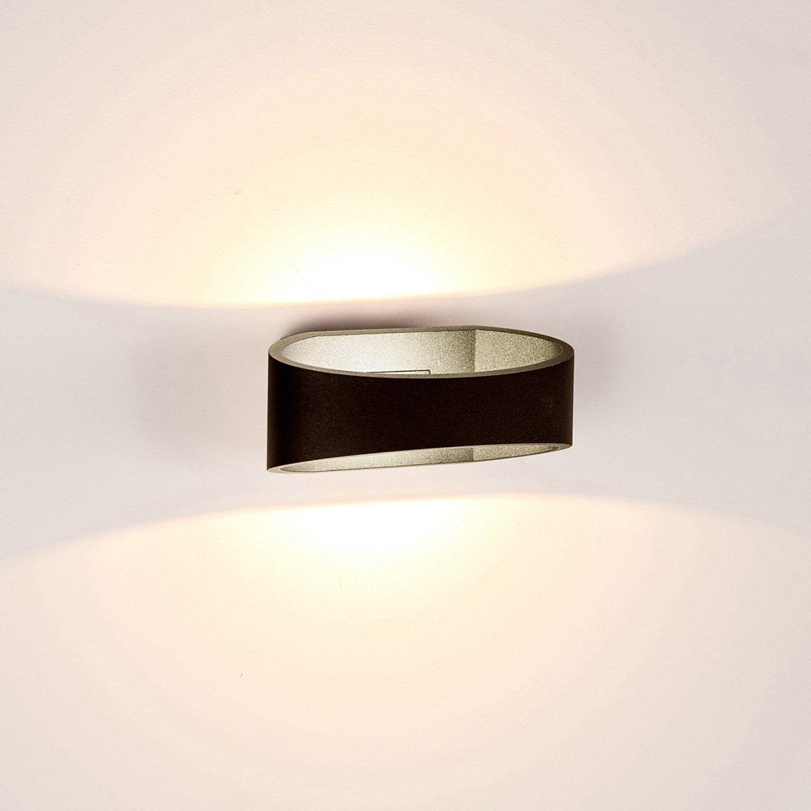 Havit Lighting LED Außen-Wandleuchte LUXE, 1 St., Warmweiß