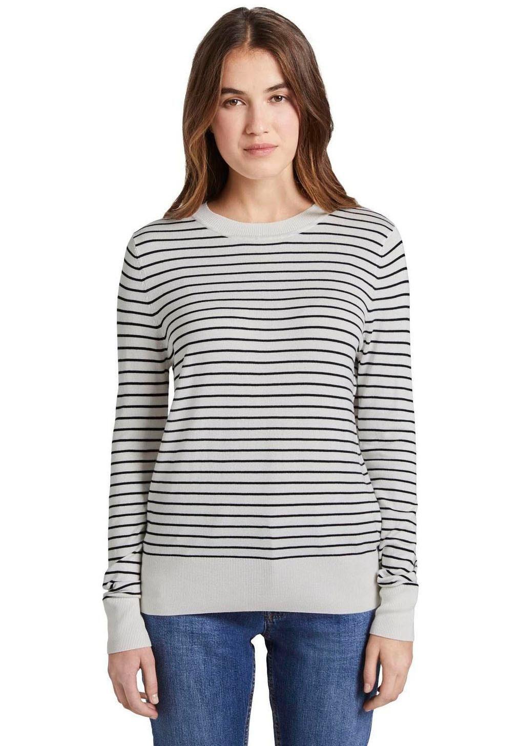 TOM TAILOR Denim Streifenpullover | Bekleidung > Pullover > Streifenpullover | Tom Tailor Denim