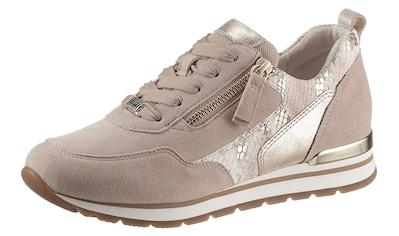 Gabor Keilsneaker »YORK«, mit Kontrastbesatz in Reptilienoptik kaufen