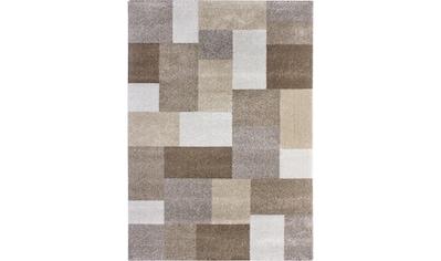 LUXOR living Teppich »Colmar«, rechteckig, 10 mm Höhe, Patchwork Design, Wohnzimmer kaufen