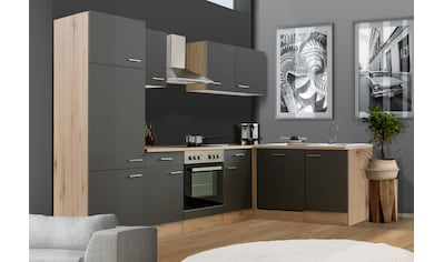Flex-Well Winkelküche »MORENA«, mit E-Geräten, Stellbreite 280 x 170 cm kaufen