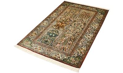 Kayoom Seidenteppich »Hamadan 12916«, rechteckig, 10 mm Höhe, Einzelstück mit... kaufen