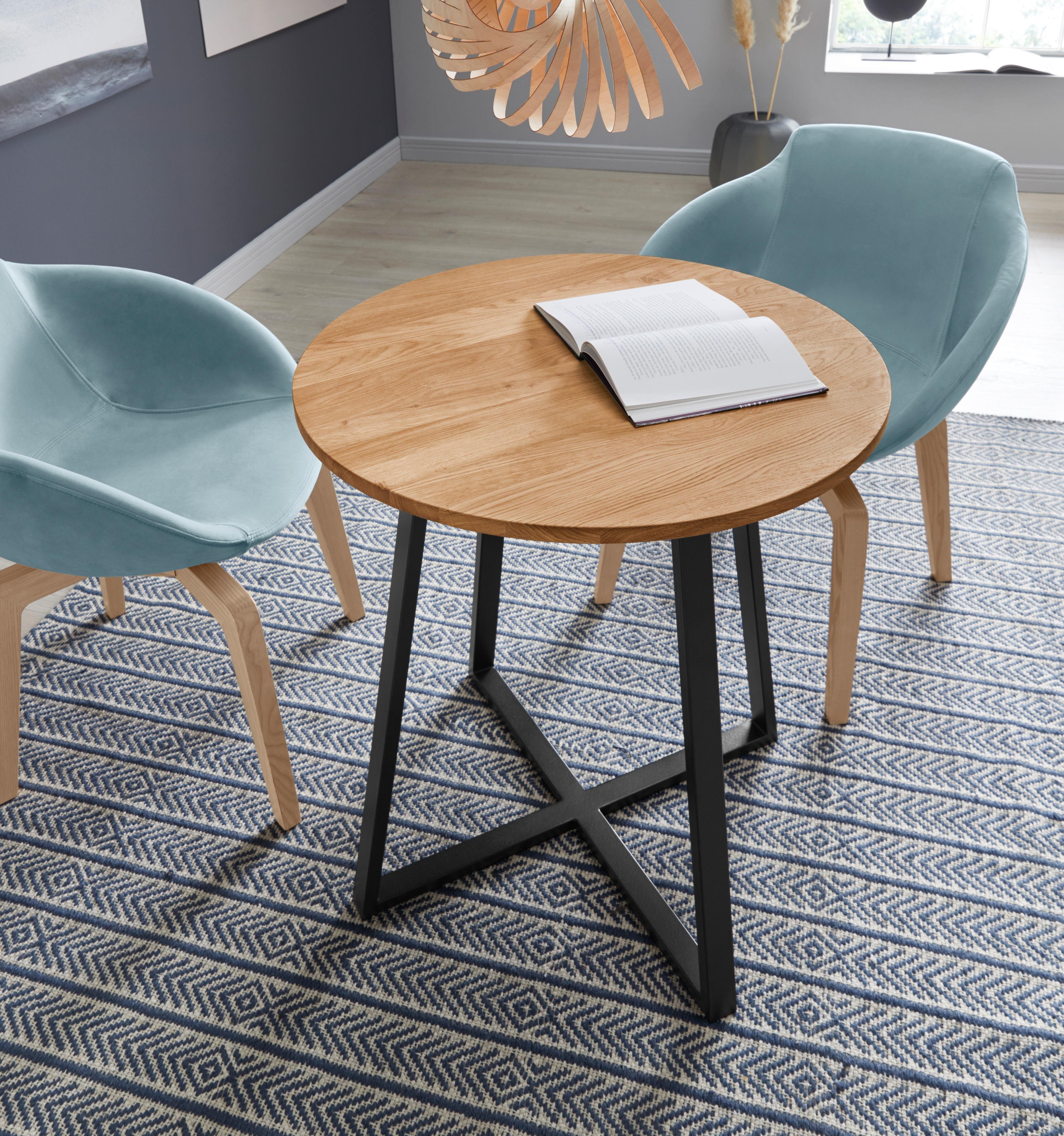 andas Esstisch Crocus beige Holz-Esstische Holztische Tische