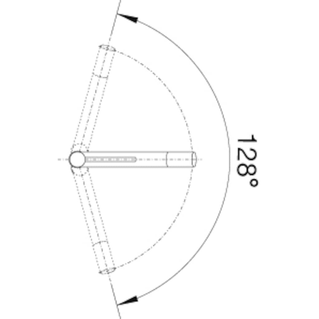Blanco Küchenarmatur »ALTA-S Compact Vario«, Hochdruck, mit herausziehbarer Zweistrahlbrause
