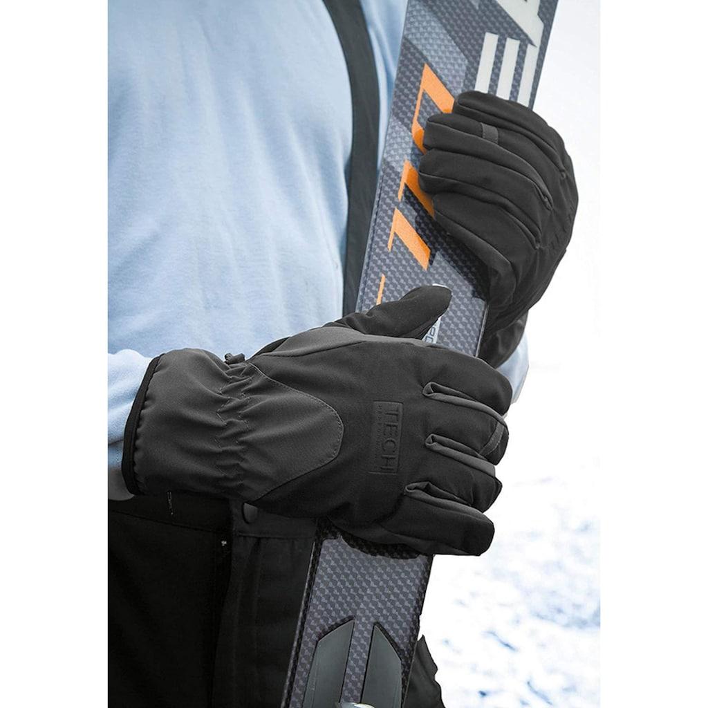 Result Skihandschuhe »TECH Performance Sport Softschell Handschuhe, Wind und Wasser abweisend«