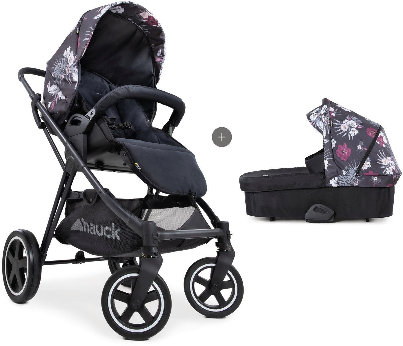 "Hauck Kombi-Kinderwagen ""iPro Mars Duoset wild blooms"" Kindermode/Ausstattung/Kinderwagen & Buggies/Kinderwagen/Kombikinderwagen"