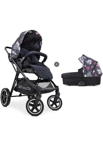 Hauck Kombi-Kinderwagen »iPro Mars Duoset, wild blooms«, mit Babywanne; Kinderwagen kaufen