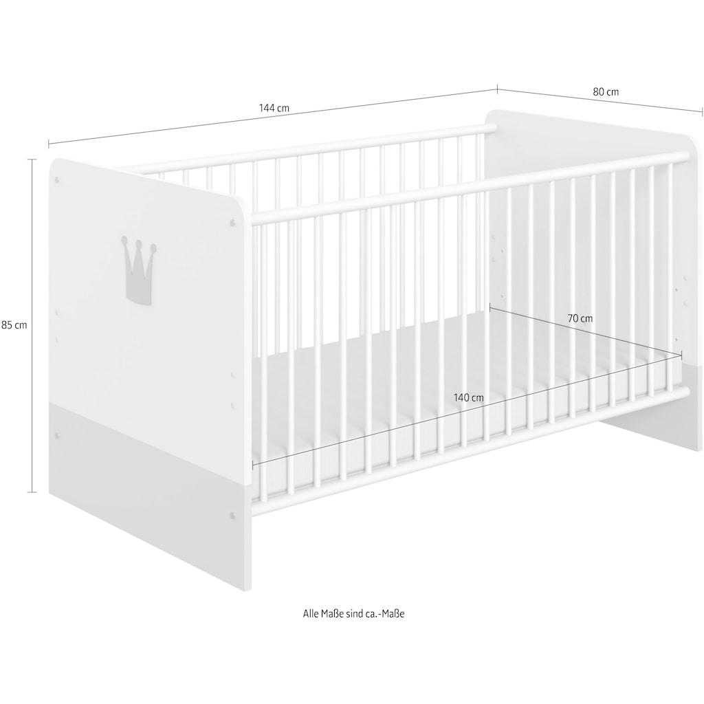 Wimex Babybett »Cindy2«, mit Schlupfsprossen