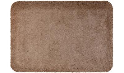 Fußmatte, »Stand on Uni«, wash+dry by Kleen - Tex, rechteckig, Höhe 21 mm, maschinell getuftet kaufen