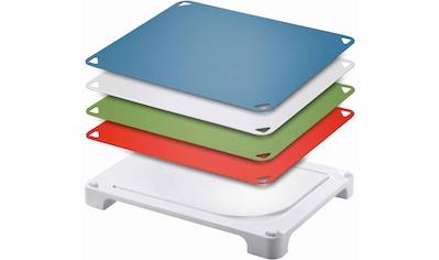 Leifheit Schneidebrett »Vario Board«, mit 4 wechselbaren Schneideauflagen kaufen