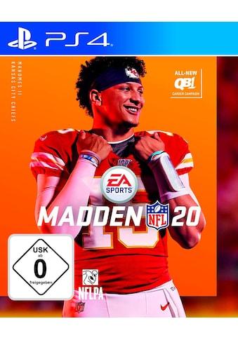 Electronic Arts Spiel »Madden NFL 20«, PlayStation 4 kaufen