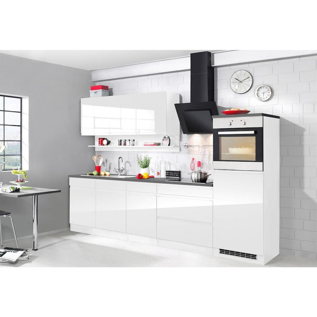 HELD MÖBEL Küchenzeile »Virginia«, mit E-Geräten, Breite 290 cm