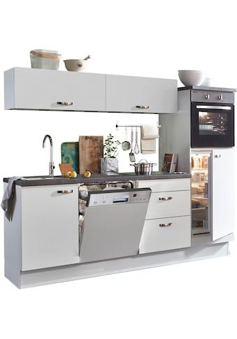OPTIFIT Küchenzeile »Cara«, ohne E - Geräte, Breite 240 cm kaufen