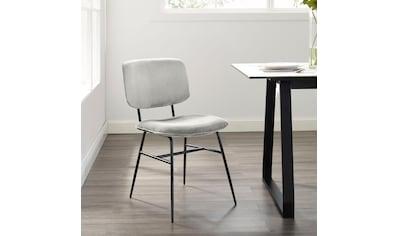 COUCH♥ Esszimmerstuhl »Sitzt gut«, 2er-Set in 4 Farben und 2 Bezugsqualitäten kaufen
