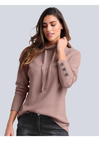 Alba Moda Strickpullover, in modischer Strickstruktur kaufen