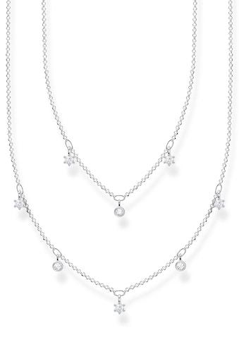 THOMAS SABO Silberkette »weiße Steine, KE2072 - 051 - 14 - L45v« kaufen