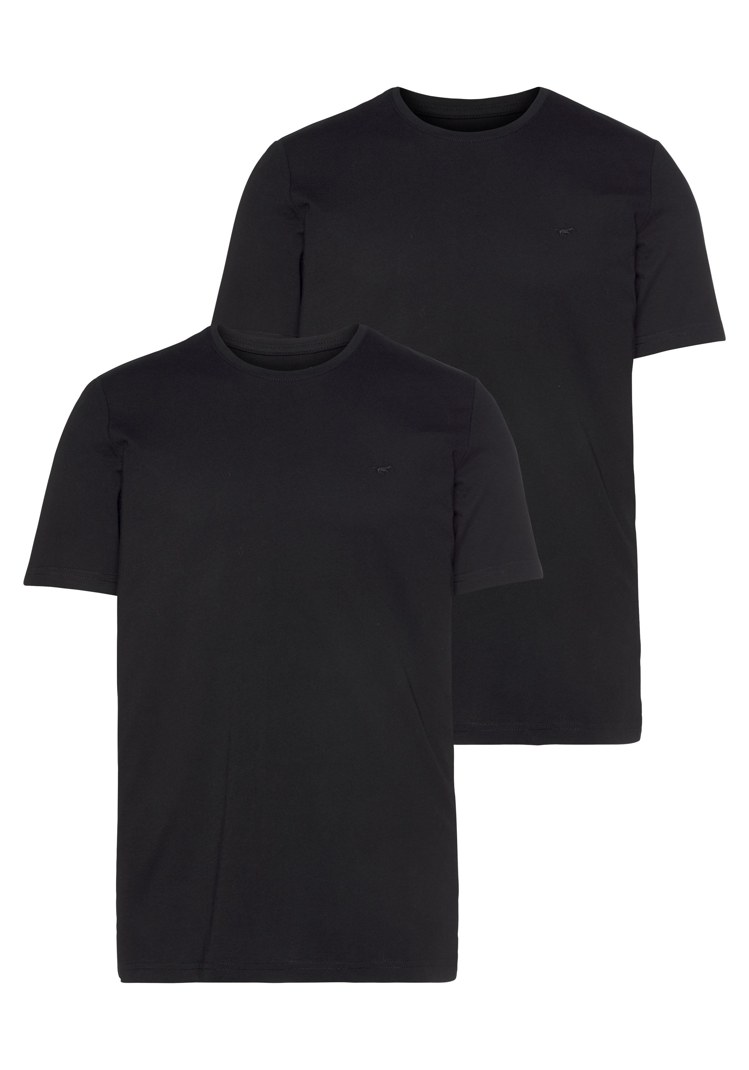 mustang -  T-Shirt, mit Rundhals