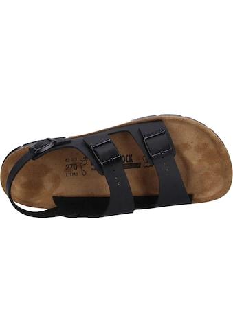 Birkenstock Sandale »500781«, Kano Herren schwarz kaufen