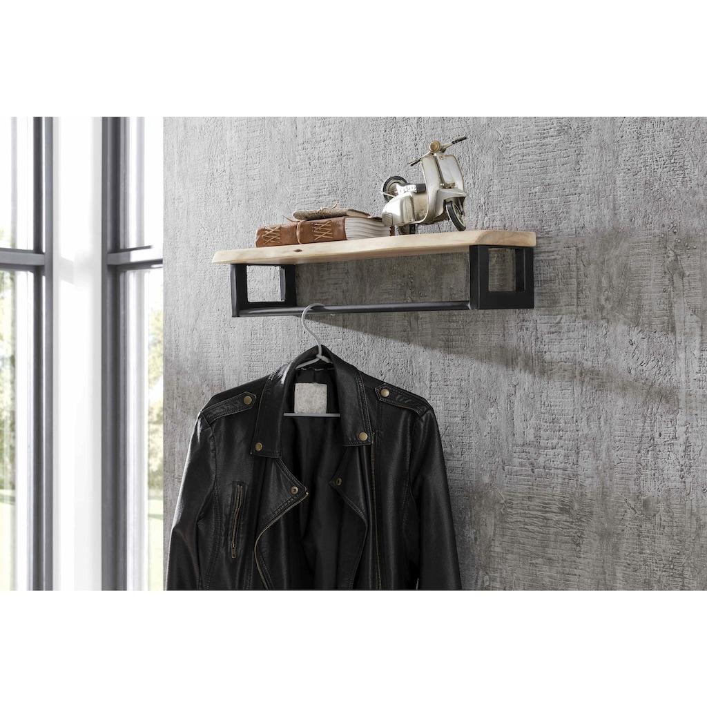 SIT Garderobe, in rustikaler Optik mit Baumkante