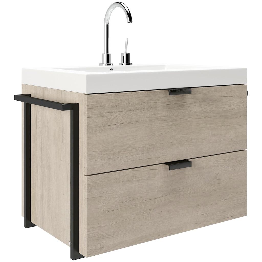 PLAYBOY Waschbeckenunterschrank »JANICE«, Breite: 85 cm
