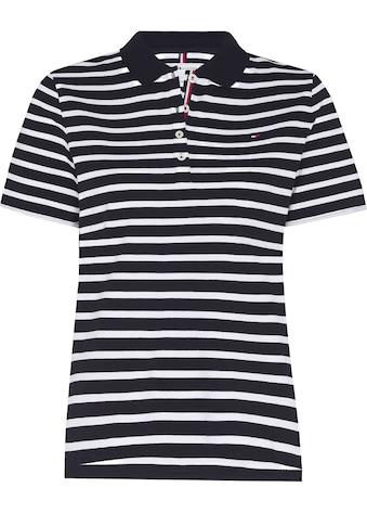 Tommy Hilfiger Poloshirt »TH ESS REGULAR STRIPED POLO SS«, im allover Streifendessin &... kaufen