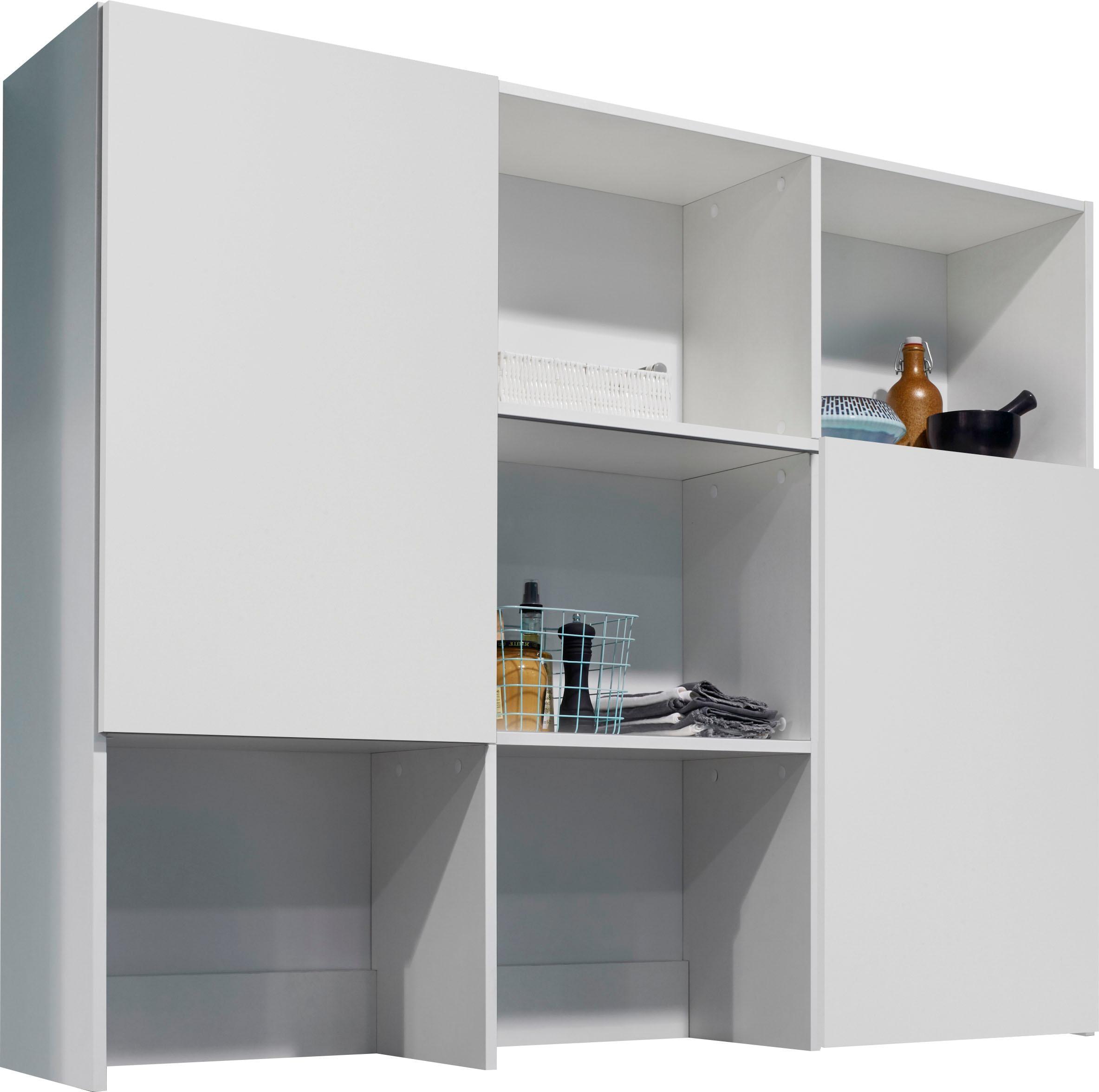 OPTIFIT Aufsatzregal Mini weiß Zubehör für Kleiderschränke Möbel Möbelaufsätze
